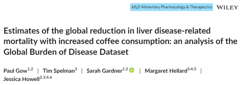 Coffee can reduce the risk of liver cancer?