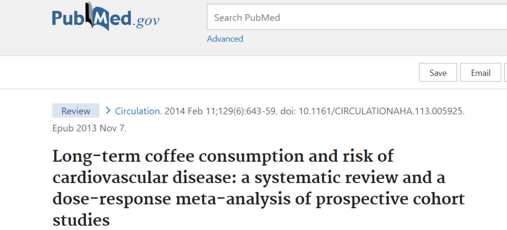 Tea and coffee can reduce death risk from cardiovascular diseases