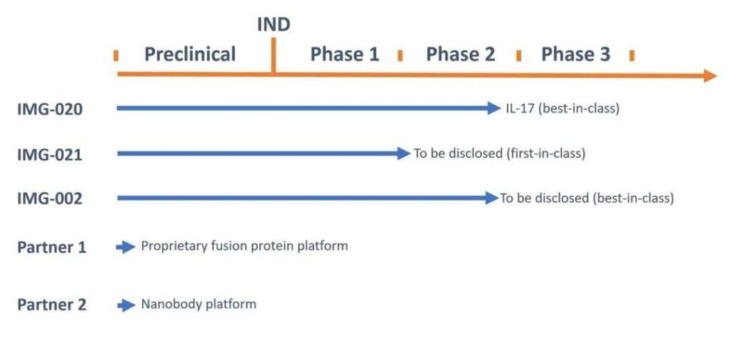 izokibep: FDA approved Phase II clinical IND application for ankylosing spondylitis