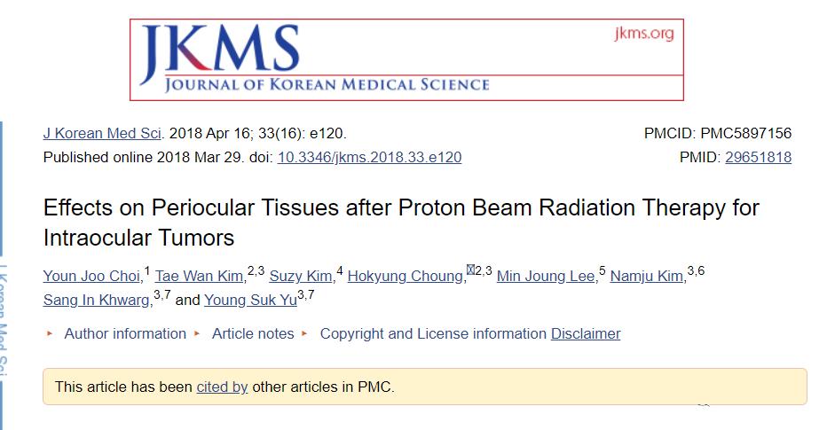 """""""Black Technology"""": Proton therapy for retinoblastoma"""