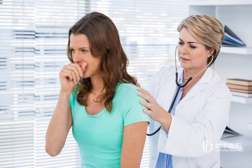 Cancer metastasizedto lung once breast cancer patients had cough and chest pain?