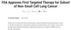The fourth dual antibody: Johnson & Johnson EGFR/cMET was approved