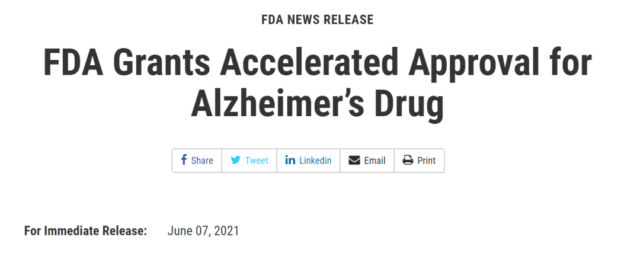 Exciting: Alzheimer's disease ushered in the first new drug in 18 years