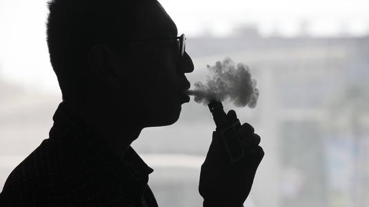 Can e-cigarette cause cancer because it still contains carcinogens?