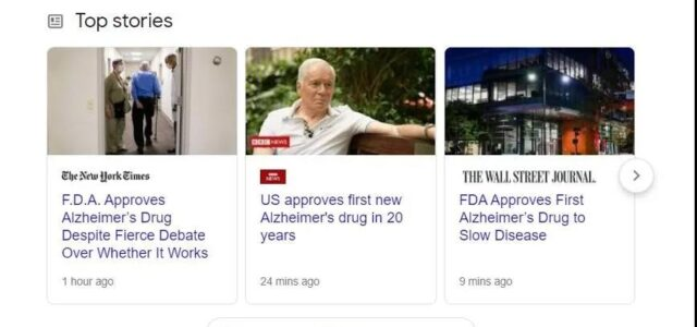 First drug to delay the progression of Alzheimer's disease was approved!