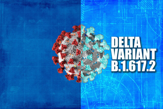 The viral load of Delta variant is 1260 times the original COVID-19 strain