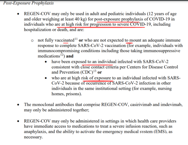 First non-vaccine drug was authorized for emergency use by FDA