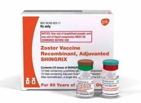 FDA approved GlaxoSmithKline Shingrix: the first shingles vaccine for immunocompromised adults!