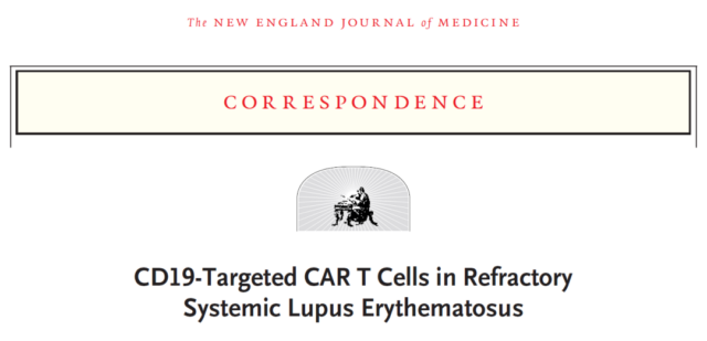 First time: CAR-T cell therapy successfully treats lupus erythematosus