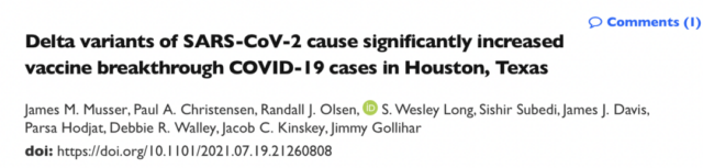 Why can vaccinated people still spread COVID-19 Delta variants?