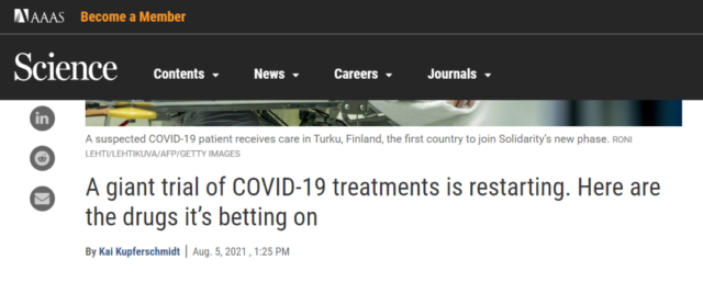 Largest COVID-19 drug treatment and clinical trials are about to begin!