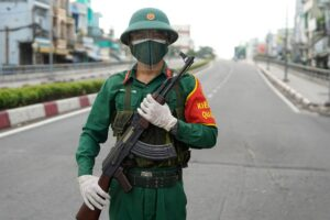 """Vietnam's largest city is """"LOCKDOWN"""" again due to COVID-19 epidemic"""
