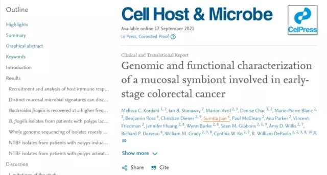 People with imbalanced intestinal flora are prone to intestinal cancer?