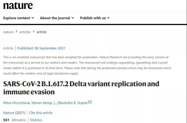 Why can COVID-19 delta mutant virus spread so quickly and fiercely?