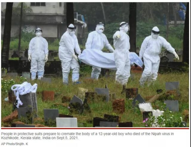 India Nipah virus deadlier than COVID-19 and 75% fatality rate