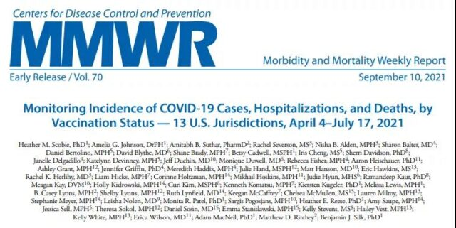 People without vaccination are 11 times more likely to die from COVID-19