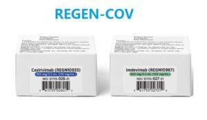 Roche/Regeneron REGEN-COV for COVID-19 post-exposure prevention!