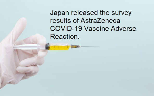 Japan: Survey about AstraZeneca COVID-19 Vaccine Adverse Reaction