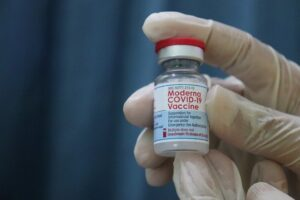 FDA says that two doses of Moderna vaccine are adequate for protection and may not require the third dose.
