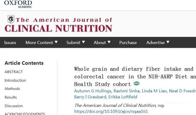 Research on 500K people: Whole grain food may prevent colorectal cancer!