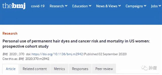 The 36-year Harvard study tells you if dyeing hair causes cancers