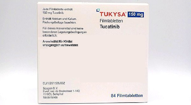 Tukysa was detected in cerebrospinal fluid and plasma of HER2+BC patients