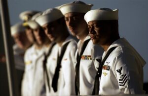 U.S. Navy personnel who refuse to be vaccinated will not be promoted