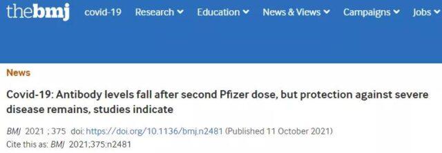 Still worried that Pfizer vaccine has little antibodies left after 6 months?